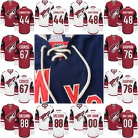laurent - Youth Kids Arizona Coyotes Jersey Kevin Connauton Jordan Martinook Lawson Crouse Laurent Dauphin Jamie McGinn Hockey Jerseys