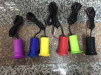 Wholesale Motorbike USB Interface Phone Charger Cigarette Lighter Universal for iphone plus sumsung xiaomi ipad Black Red Blue Yellow