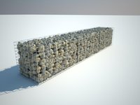 Wholesale 2m x m x m Galfan Gabion Basket High Qualiy Weled Gabion Mesh for Retaining Wall and Soil Reservation