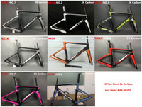 carbon bike frame - Newest MCipollini NK1K T1000 K or k frame Full Carbon Road Bike Frame fork headset seatpost Size XXS XS S M L bicycle frameset