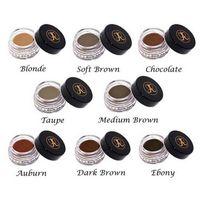 Wholesale Dip brow Pomade for sourcils Eyebrow cream colors Auburn Blonde Chocolate Dark brown Ebony Medium brown Soft brown Taupe