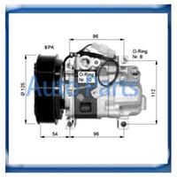 Wholesale Mazda compressor GDB161450 GAM6 K00 GAM661K00 H12A1AQ4HE H12A0CA4JE H12A1AE4DC GJ6F61K00A GJ6F K00A