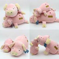 Nueva calientes caliente muy caliente cama de cerdo de calidad felpa juguetes muñeca niños niños regalos de cumpleaños regalos al por mayor