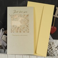 Wholesale Iraq and the exquisite carving Korean greeting card universal card birthday card thank you CARDS WISH