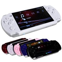 Wholesale FREE Built in games GB Inch PMP Handheld Game Player MP3 MP4 MP5 Player Video FM Camera Portable Game Console DHL SHIP