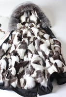 Wholesale man winter outwear MR MRS FUR couples Long parkas hood with raccoon fur collar Fox furs Lining