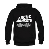 arctic fleece - High Quality Fashion Hooded Arctic Monkeys Loose Casual Pullover Long sleeve Sweatshirts