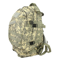 Wholesale Hot Unisex Sports Outdoors Molle d Military Tactical Backpack Rucksack Bag Camping Traveling Hiking Trekking L Free DHL Fedex