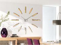 Wholesale Home DIY decoration large wall clock modern design Fashion Art decorative wall stickers