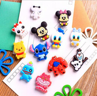 Wholesale Lovely Creative Cartoon Pooh Bear Cat PVC Fridge Magnet Fridge Sticker Refrigerator Magnet Home Decorations