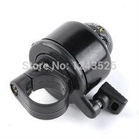 Wholesale Cycling Mountain Bike Bicycle Handlebar Bell Horn Alert w Compass Universal Ring black