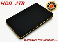 Wholesale New TB hd externo portable external hard disk drive USB Black hdd