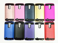 For Apple iPhone mix colors TM 2 in 1 Slim Armor Case For LG K7 K10 TPU PC Hard Verus Back Mobile Phone Cover For LG LS 775 Cell Phone Case