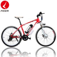 Wholesale 26 inch Speed W V AH Lithium Battery Mountain Bike Electric Bike Electric Bicycle Ebike Motorcycle for Adults