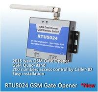 access control server - users RTU5024 GSM Garage Swing sliding Gate door Opener Relay Switch Remote Access Control Door Opener server controller