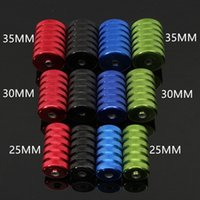 Wholesale Tattoo Grips Knurled Aluminum Tattoo Grip Tube MM MM and MM With Back Stem For Tattoo Machine Power Kit Set
