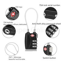 approved securities - Black TSA Approved Security Resettable Digit Combination Password Travel Luggage Suitcase Lock Padlock for Camping Travel