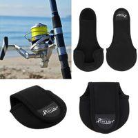 Купить Piscifun рыбалка-Piscifun BG006 Nylon Carcia Spinning Wheel Baitcasting Сумка для рыболовной катушки Защитный чехол Рыболовные снасти Черный