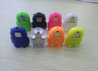 Wholesale Manufacturer of spot micro Usb otg adapter Usb otg android gm robot