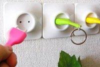 Wholesale 50pc Novelty Unplug Key Ring rings Home Decoration Keychain Keyring Christmas Gift w Socket plug A