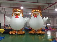 big rooster - 2017 China Rooster Big Size Trump Inflatable Advertising Products Donald Trump Inflatable Chicken Giant Inflatable Rooster Drop Shipping T51