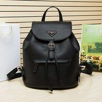 best hiking backpack brands - The best quality female outdoor fashion backpack travel bag Really leather handbag high end brand ladies bag