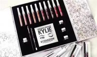 Wholesale New arrived KYLIE Holiday Edition Big Box include color lip gloss Shadow Palette cream shadow eye linner