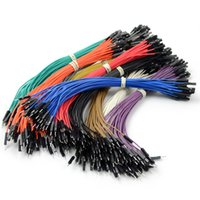 Wholesale For Arduino Female to Male Dupont Dupont Wire Color Jumper Cable cm