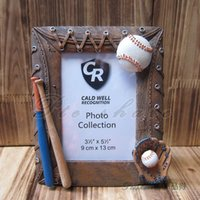 baseball picture frames - Originality Baseball Vintage Picture Frame Hand Made Rasin Home Decor Birthday Gifts Picture Frame inch