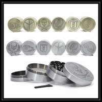 ancient bronzes - 2017 New Style Zinc Alloy Herb Grinders Layer Parts mm Diametre Ancient Sliver Bronze Piece Metal Smoking Grinder Spice Crusher Tools