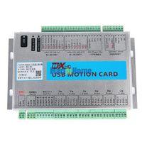 Wholesale USB MHz Mach4 CNC Axis Motion Control Card Breakout Board MK6 M4 for Machine Centre CNC Engraving Machine SM782 SD
