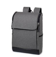 backpack for notebook - Large Capacity Cool Solid Men Women Backpacks Laptop Backpack School Rucksack Notebook Computer Bags for Laptop Inches