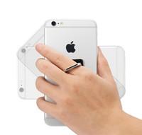 El nuevo teléfono móvil anillo de apoyo de metal espejo personalizado regalo de gama alta adjunto al gancho de coche