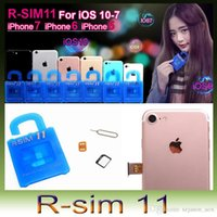 Wholesale R SIM RSIM11 r sim11 rsim unlock for iPhone plus iOS7 ios7 x CDMA GSM WCDMA SB AU SPRINT G G