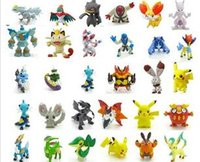 Wholesale DDD Cartoon Poke Toy Pocket Monsters Mini Action Figures Pet Shop Anime Pikachu Hot Toys For Children Gifts Minifigures Ramdon Color