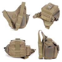 Wholesale Sports messenger bag molle bags pouches camping trekking rucksack hiking backpack tactical backpack saddle bag leisure shoulders bag