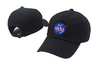 Wholesale 11 color Fashion rare I NEED MY SPACE NASA Meat Ball god Embroidered Cotton dad hat snapback Baseball cap i feel like pablo casquette