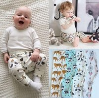 Wholesale 14 styles baby spring autumn harem pants new boys and girls cotton pants PP CM children pants S