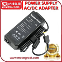 Wholesale High Quality Laptop AC Adapter V A W Yellow Rectangle Tip with Pin for Lenovo