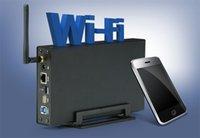Grossiste cas hd 3.5 2.5 pouces usb 3.0 pour sata hdd ssd jusqu'à 6To Avec Wireless Wifi Router externe hdd cas