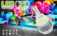 automobile bulbs - High Power w Car headlight bulbs H4 LED Light Headlights H4 Automobile H1 H4 H7 H11 H13 H16 LED Headlamp