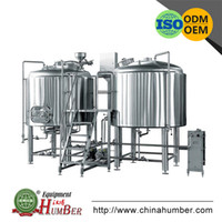 beer brewing machine - High Quality Stainless Steel CE ISO Certificate Micro Beer Brewing Equipment German Style Brewery Machine For Sale