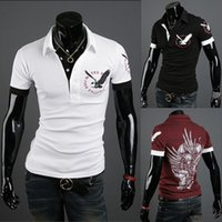 Wholesale New Mens shirts fashion Casual Shirt Slim Fit Camisa Polo Summer Short Sleeve Casual Men s Clothing