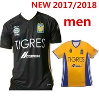 Wholesale Tigres home Away rd jersey Mexico club Tigres UANL Stars football shirt top thai quality jersey