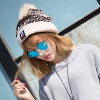 Wholesale Fashion Women Winter Beanies Knit Hats Autumn Thicken Christmas Caps Girl Lady Warmer Cold proof Knitted Handmade Casual Hat