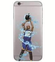 basketball paint - basketball man phone case for iphone s plus s s7 s6 note soft slim TPU cover cases fashion painting defender cases GSZ242