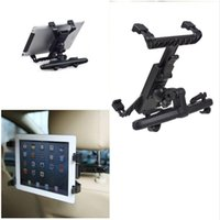 Wholesale 7 inch to inch Universal Car Back Seat Headrest Mount Holder Clip Bracket For iPad Tablet SAMSUNG tab Tablet PC Stands F170109