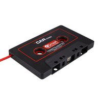 Wholesale Car Audio Cassette Tape Stereo Adapter For Phone CD MD MP3 AUX mm Jack