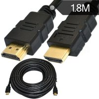 Wholesale 6FT is standard HDMI line HD edition D Ethernet computer connected TV connecting line meters