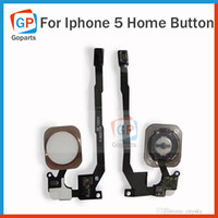 Wholesale For iPhone G Black White Gold Three Primary Colours Back Menu Key Keypad Home Button Flex Cable Ribbon